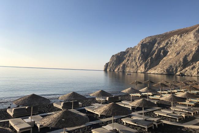 Hotel Review: Bellonias Villas, Kamari, Santorini in Greece