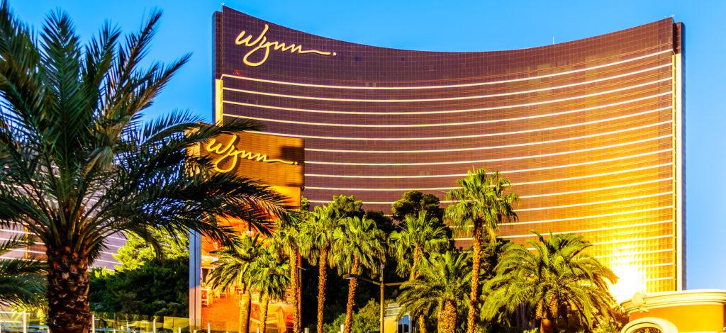 Las Vegas, Nevada/USA - June 8, 2019: Construction of new Casino Resorts on Las Vegas Boulevard, The Strip, across from the Wynn Resort and Casino in Las Vegas