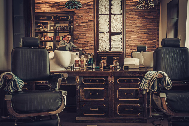 How to turn your bathroom into a barbershop