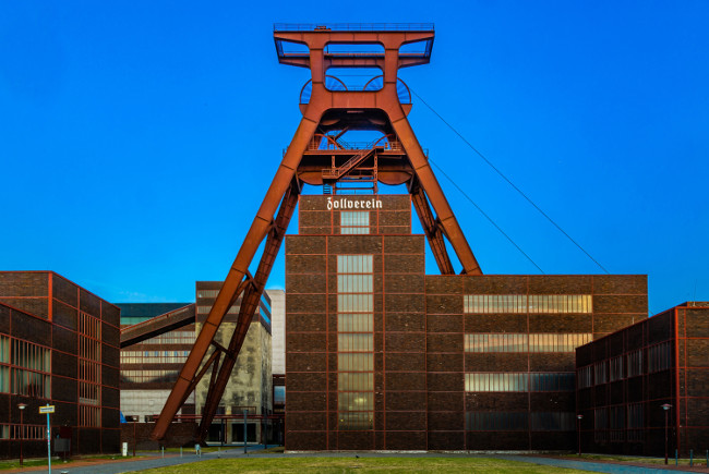 Showcasing industrial culture: The Zollverein Coal Mine, Essen in Germany