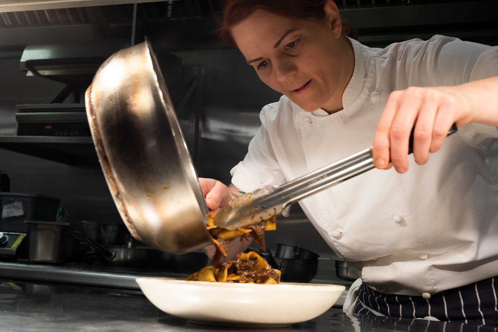 Meet the chef: Talking food with Kim Woodward of 100 Wardour