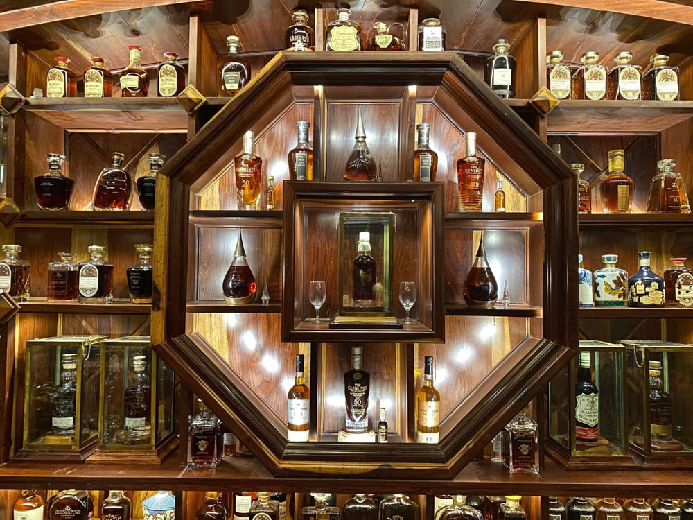 Mr Viet's Guinness World Records whisky collection (1)
