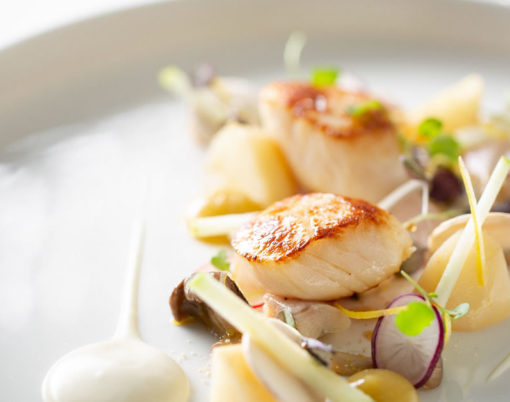 The Dower House Restaurant Fine Dining - Scallops