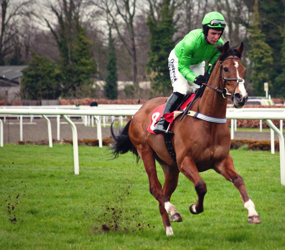 Horse race jockey Andrew Tinker at Kempton Park England. Photo taken on the 17th March 2012.