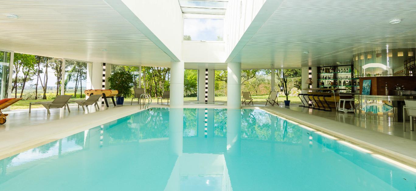 10 luxury properties with amazing indoor pools | Luxury ...