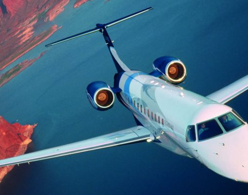Embraer Legacy 600 in flight