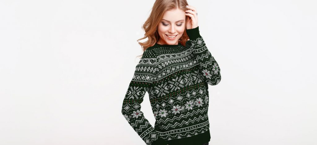 Purely Diamonds release the world's first and only diamond-encrusted Christmas jumper!