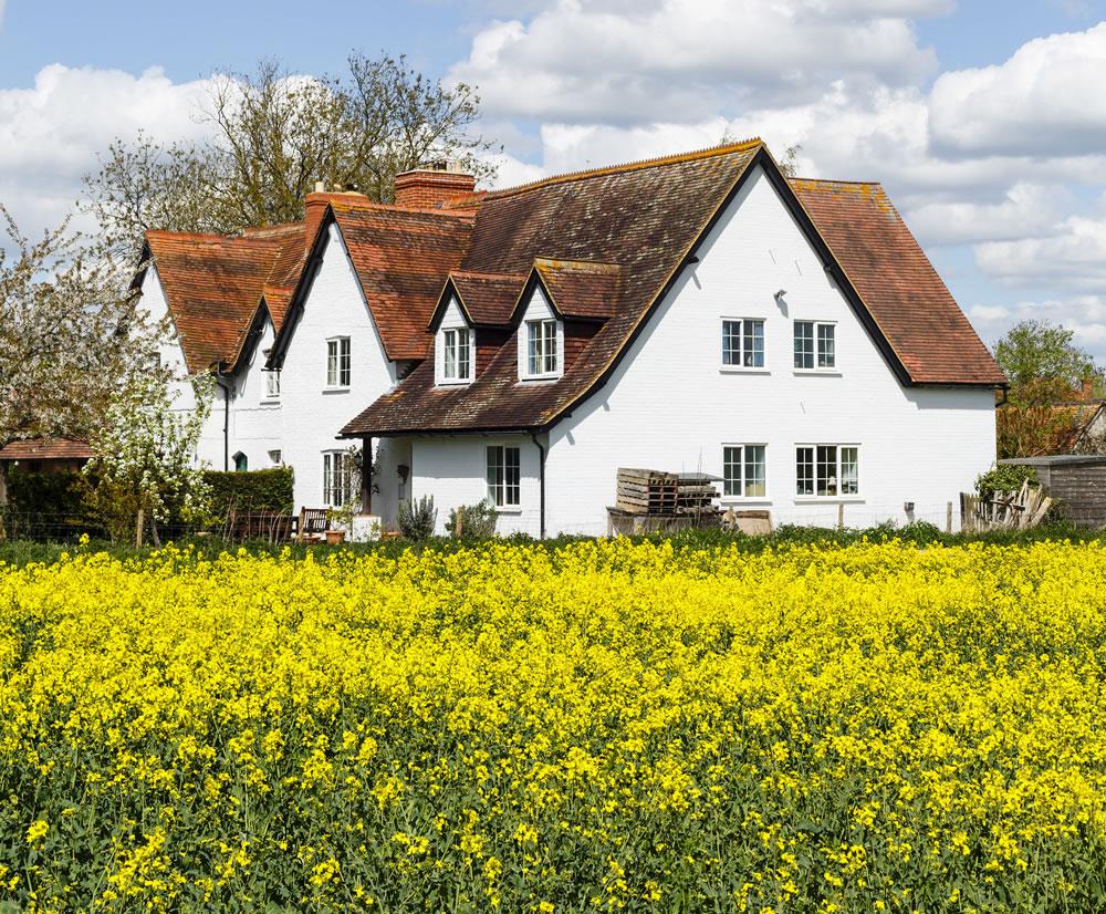 bigstock-A-Row-Of-Terraced-Farm-Cottage-307192057