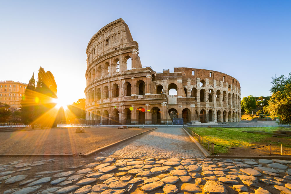 bigstock-Colosseum-At-Sunrise-Rome-It-267474112