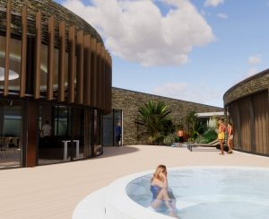 The new Aqua Club development at The Headland Hotel
