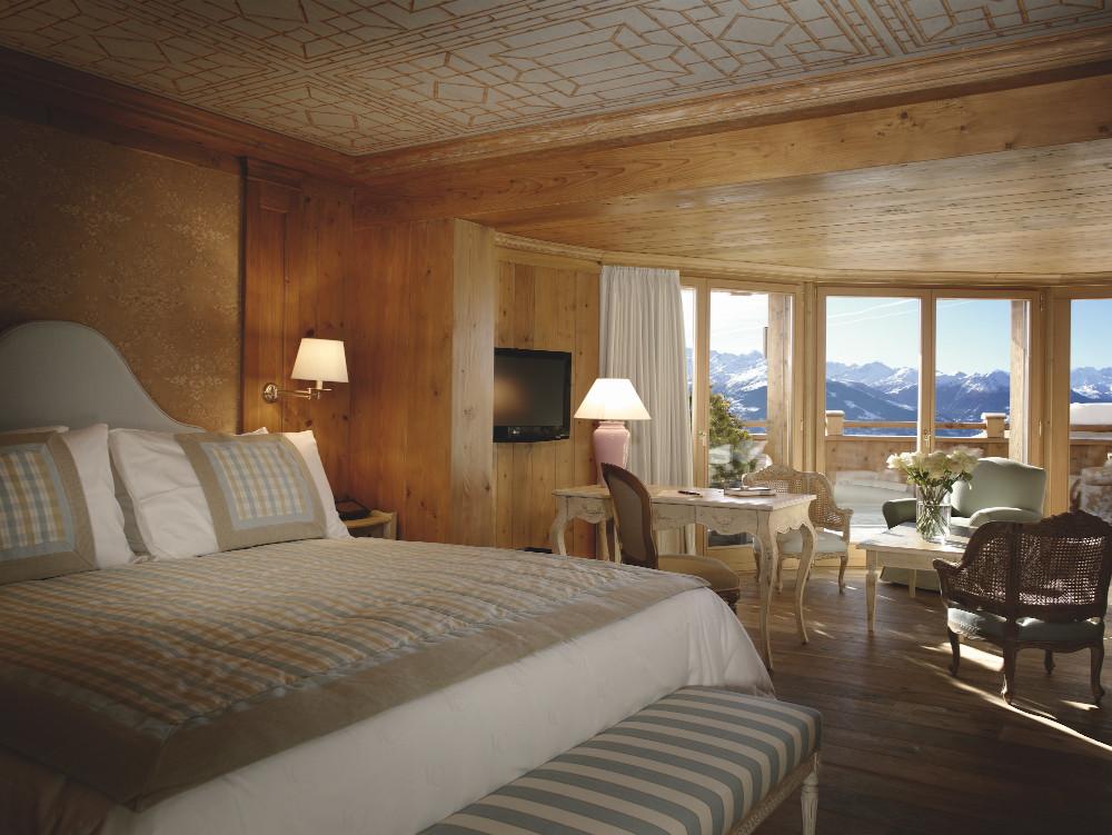 junior suite crans hotel