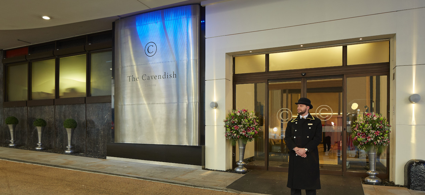 The Cavendish hotel entrance