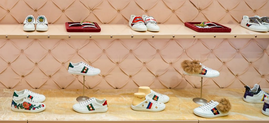 The top 5 Gucci sneakers you need to be