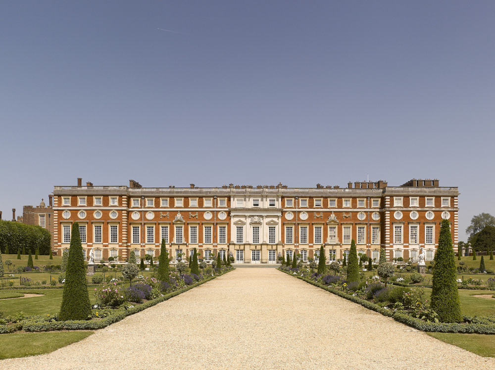 The South Front and Privy Garden