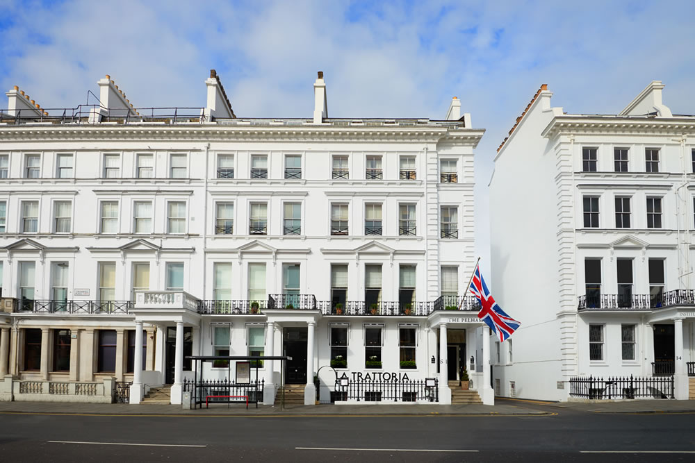 The Pelham London Exterior