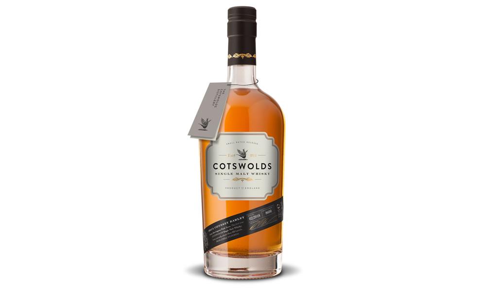 Cotswolds Single Malt Whisky bottle