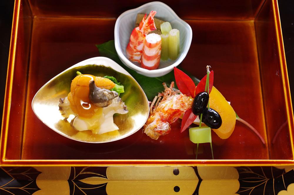 Dinner at Hiiragiya