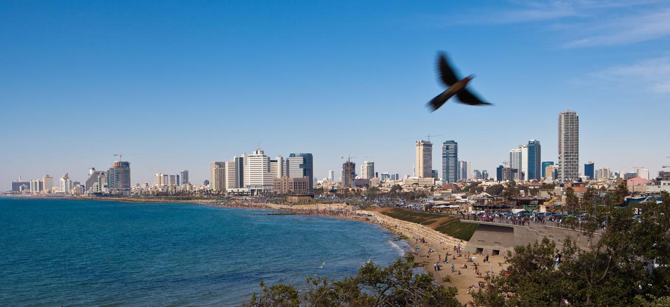 Tel Aviv courtesy Dana Friedlander for the Israeli Ministry of Tourism