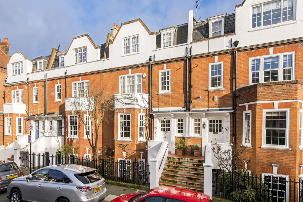 Stunning family home comes to market in historical pocket of West Kensington in London