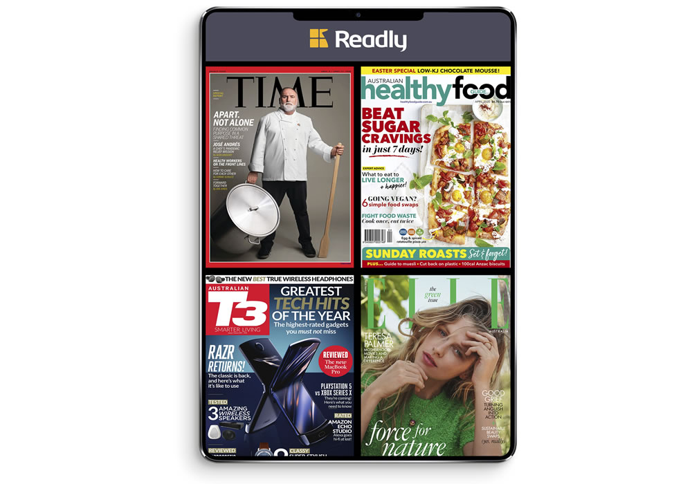 Readly, the Netflix of magazines
