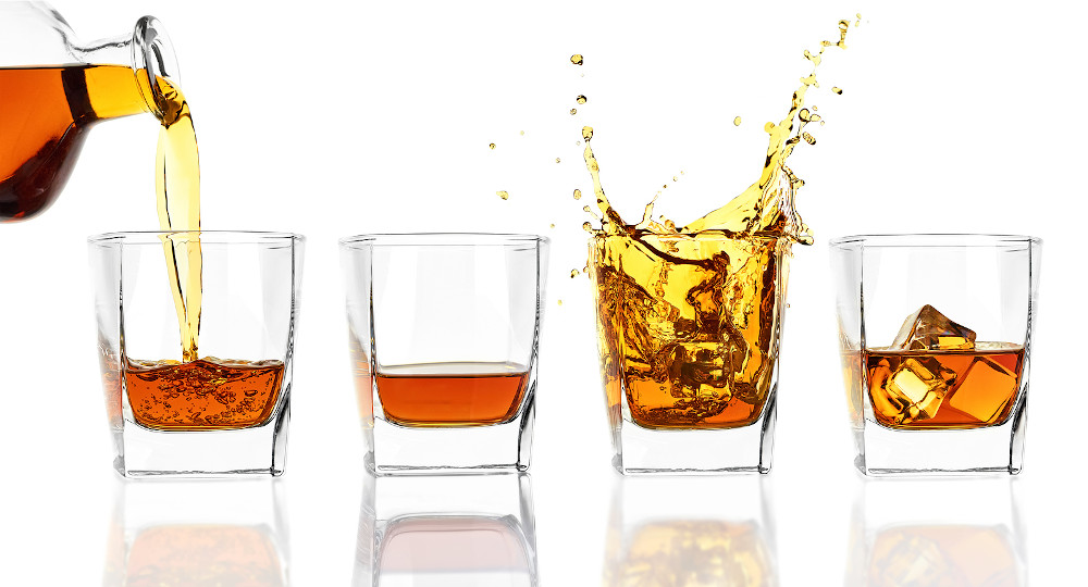 Four Glasses Of Whiskey