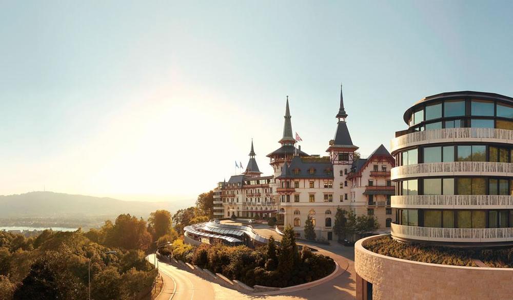 The Dolder Grand Hotel in Zurich