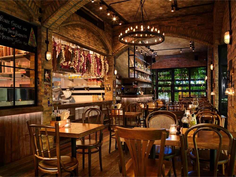 Cantina Pizzeria & Italian Kitchen - Ground Floor Night