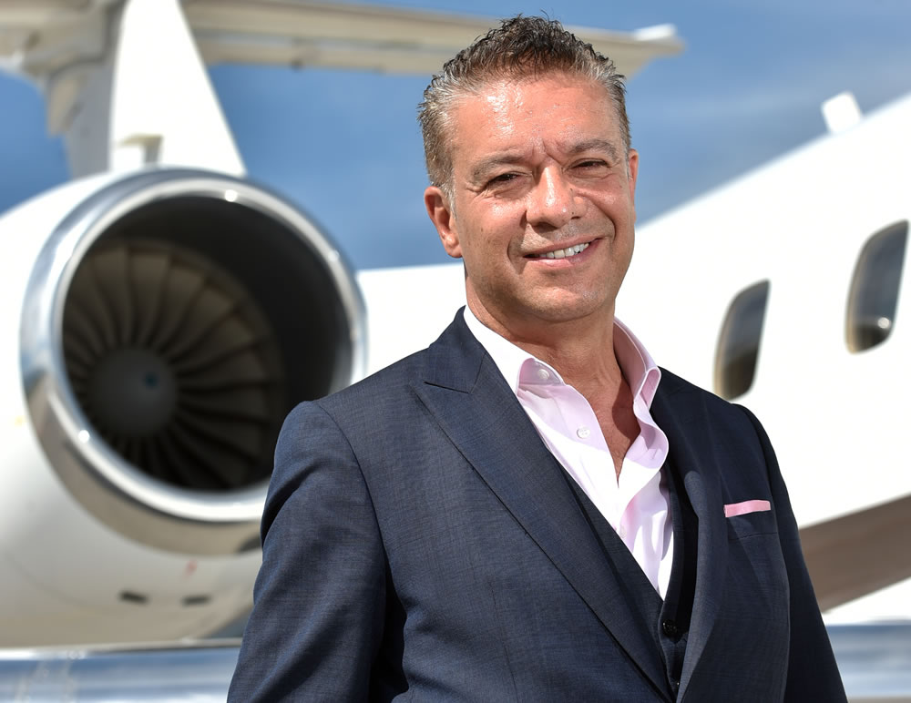 George Galanopoulos, managing director, Luxaviation UK