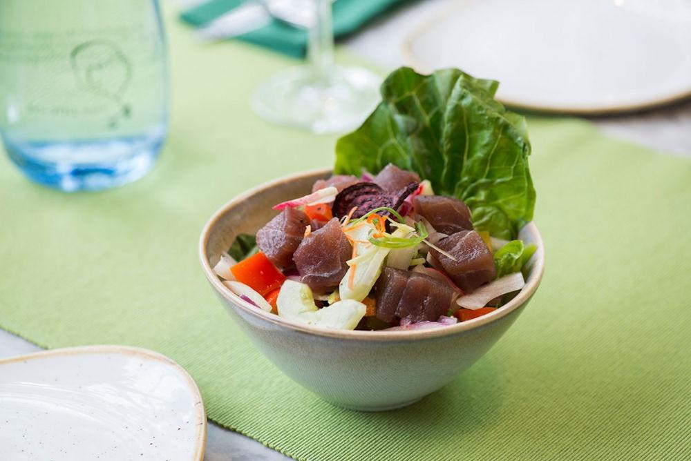 Romulo cafe tuna ceviche