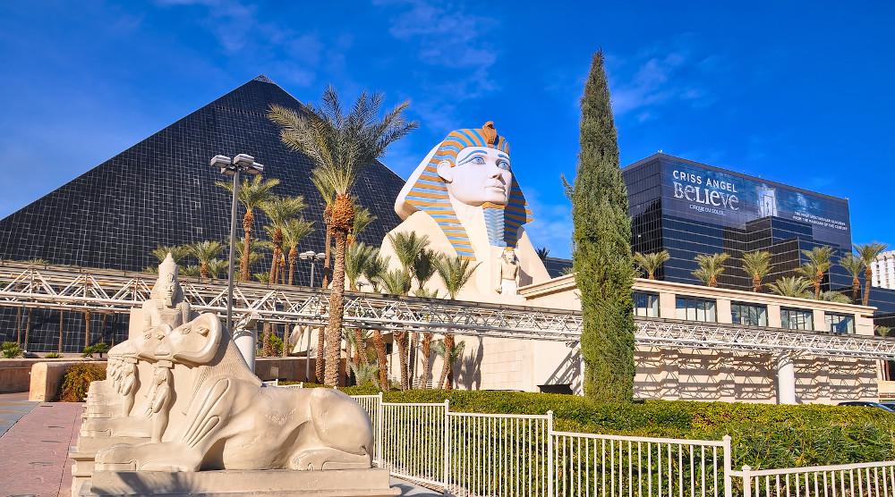 Luxor Casino hotel Vegas