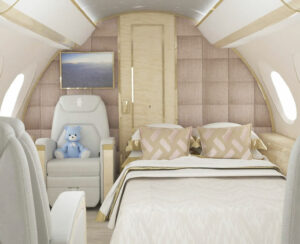 2 Nursery Jet G650 Bed Section
