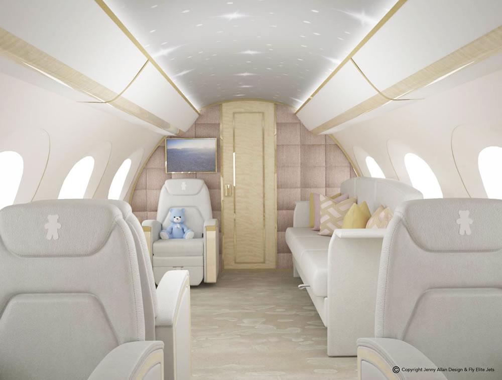 4 Nursery Jet G650 Sofa