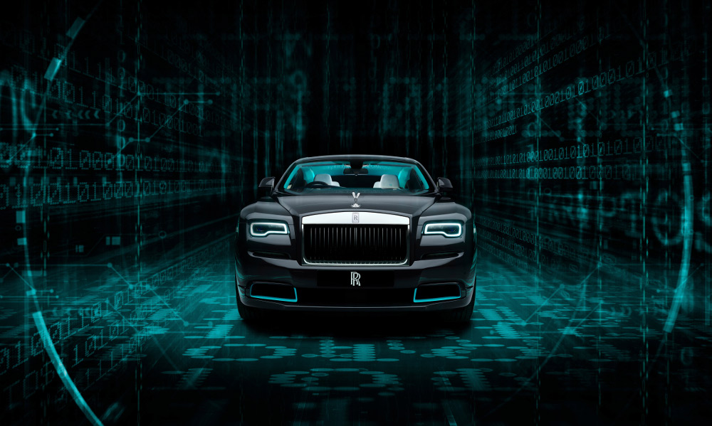 The Rolls Royce Wraith Kryptos Collection