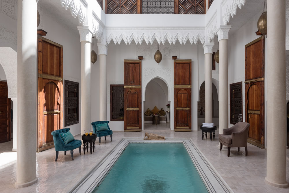 Riad Spice dipping pool