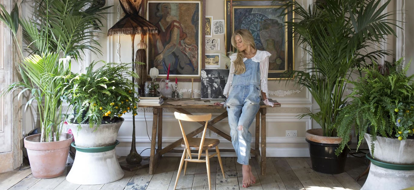 Sera of London at home in Little Venice