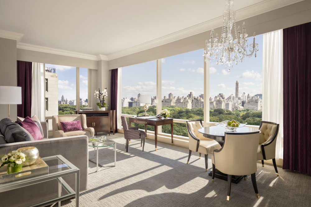 The Park View Two Bedroom Suite overlooking Central Park