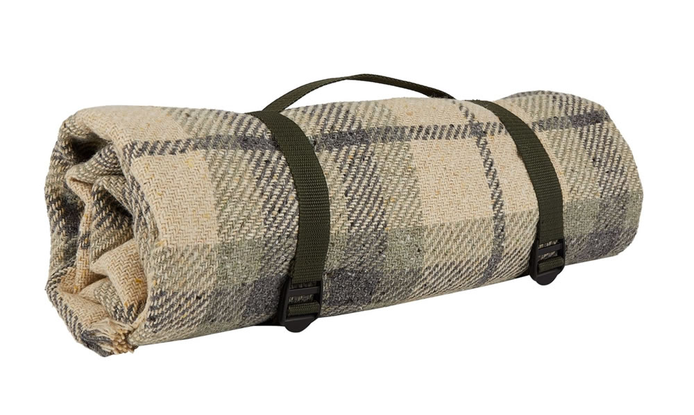 Wool Blend Picnic Rug by Harrods