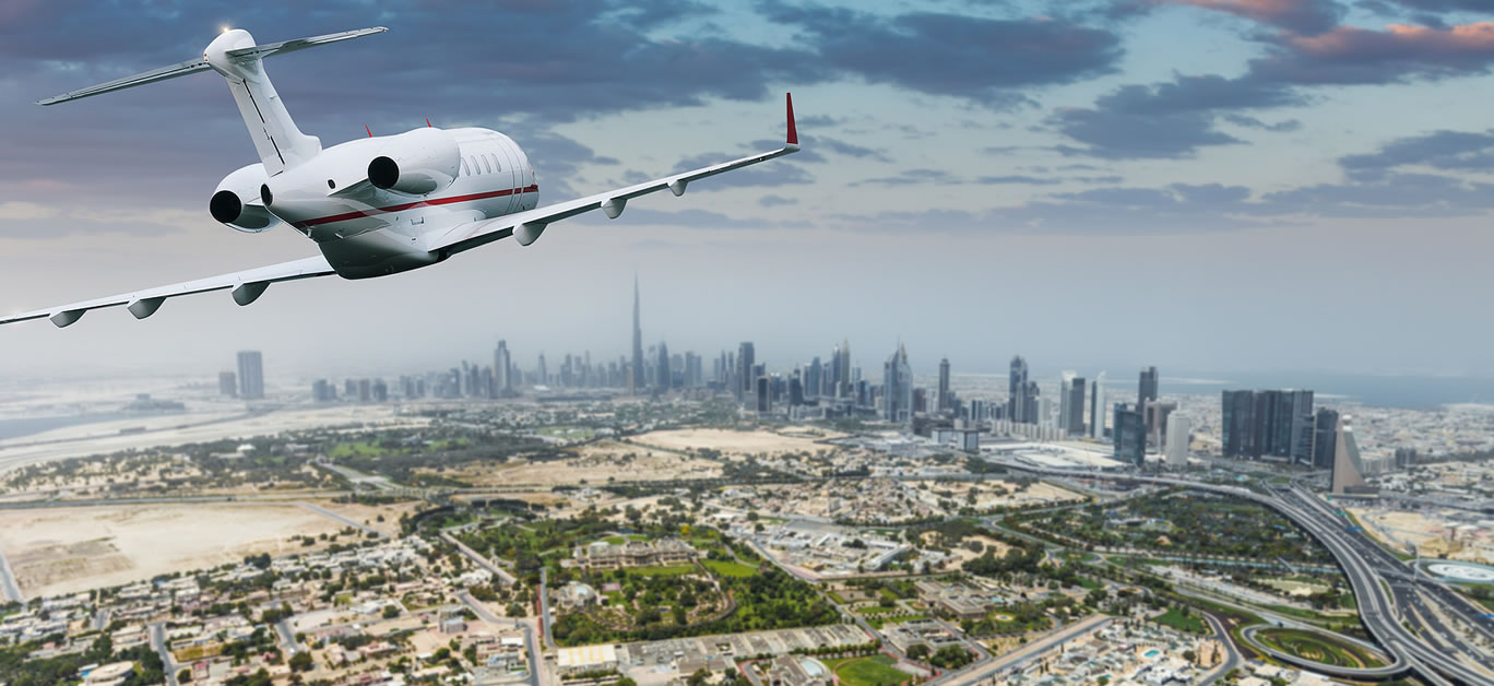 bigstock-Aerial-view-with-private-jet-o-278903185