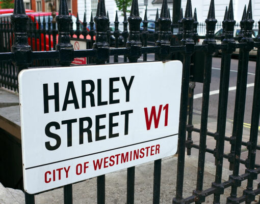 harley street sign