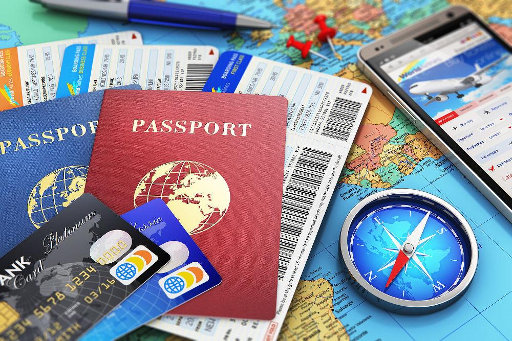 passport tickets travel