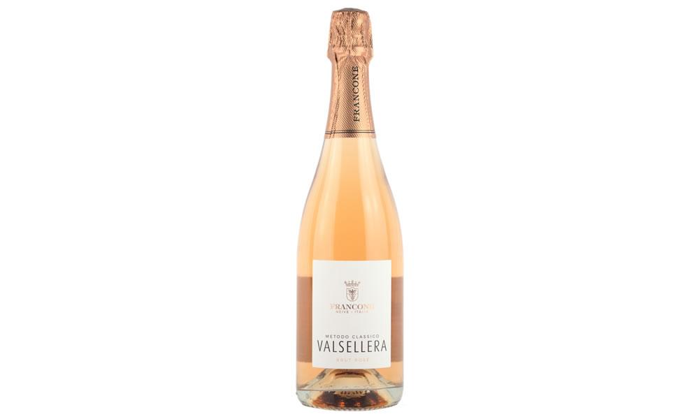 Francone Valsellera Sparkling Rosé Brut NV Metodo Classico