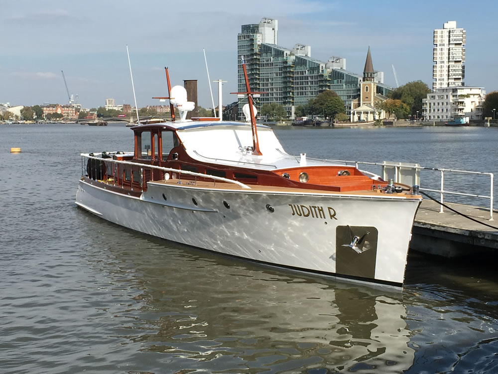 Judith R: the American commuter yacht