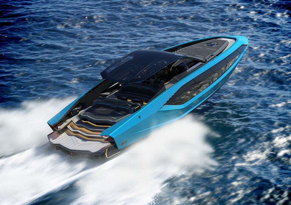 New Tecnomar Lamborghini 63 motor yacht revealed
