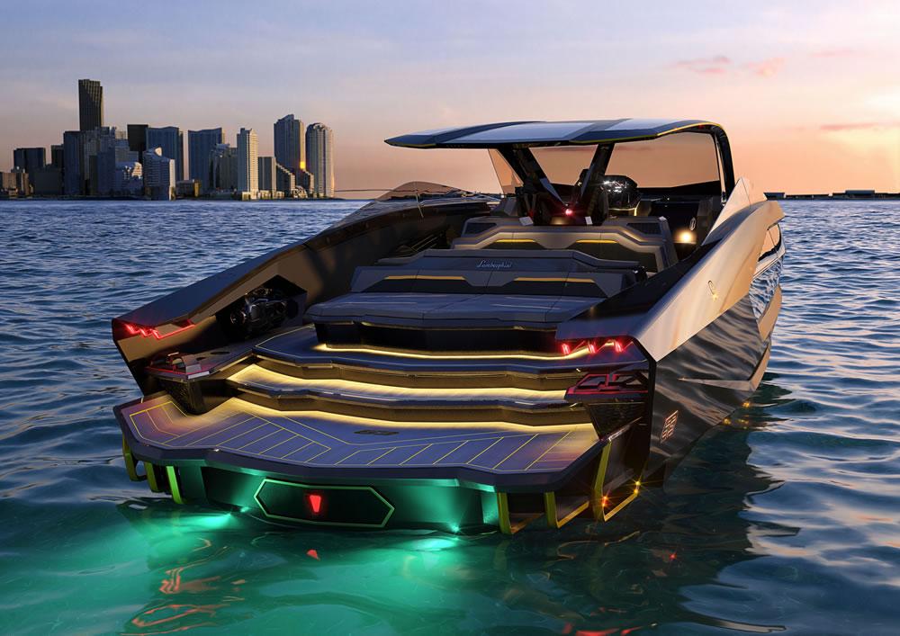 Tecnomar Lamborghini 63 Motor Yacht
