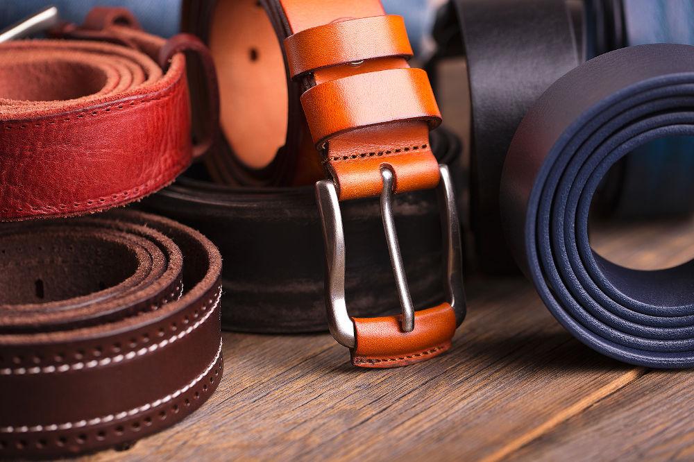 man belt style