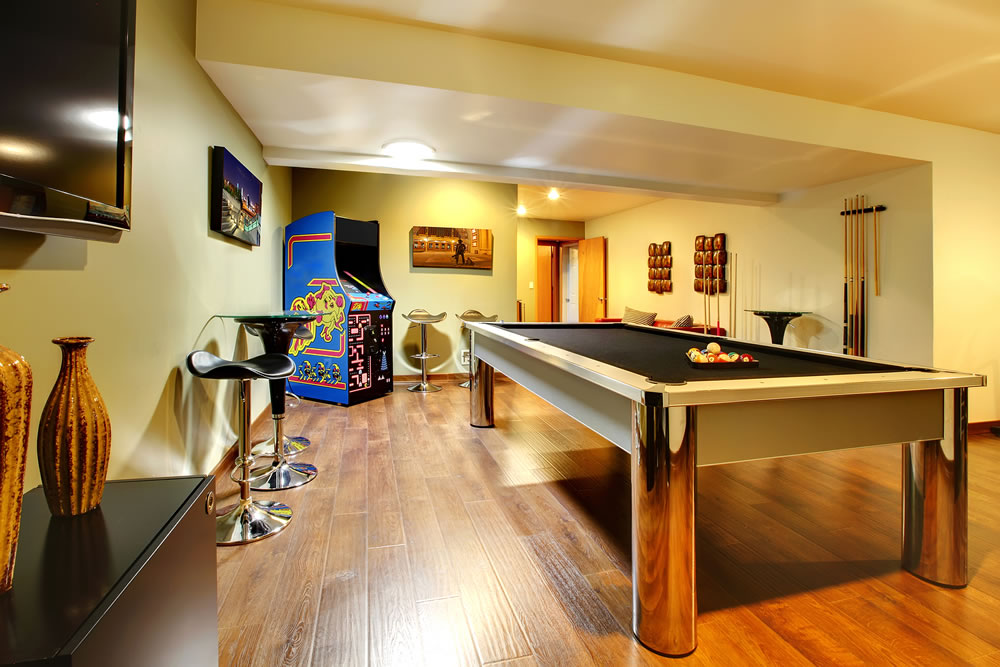 games room at home