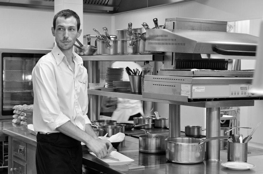 chef Emmanuel Andrieu.