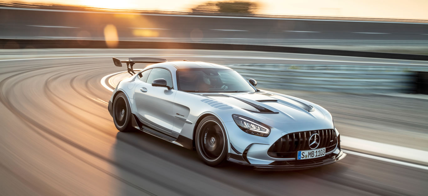 New Mercedes-AMG GT Black Series
