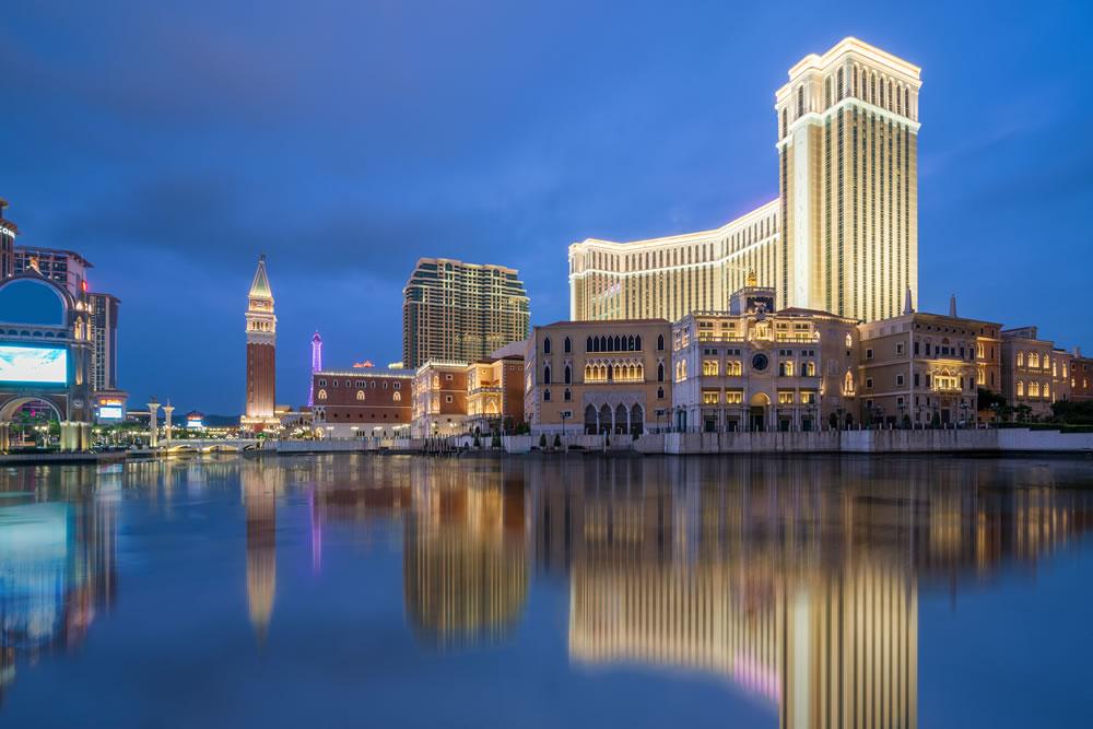 The Venetian Macao Casino and Hotel in Macau (Macao) China
