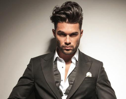 man model hair